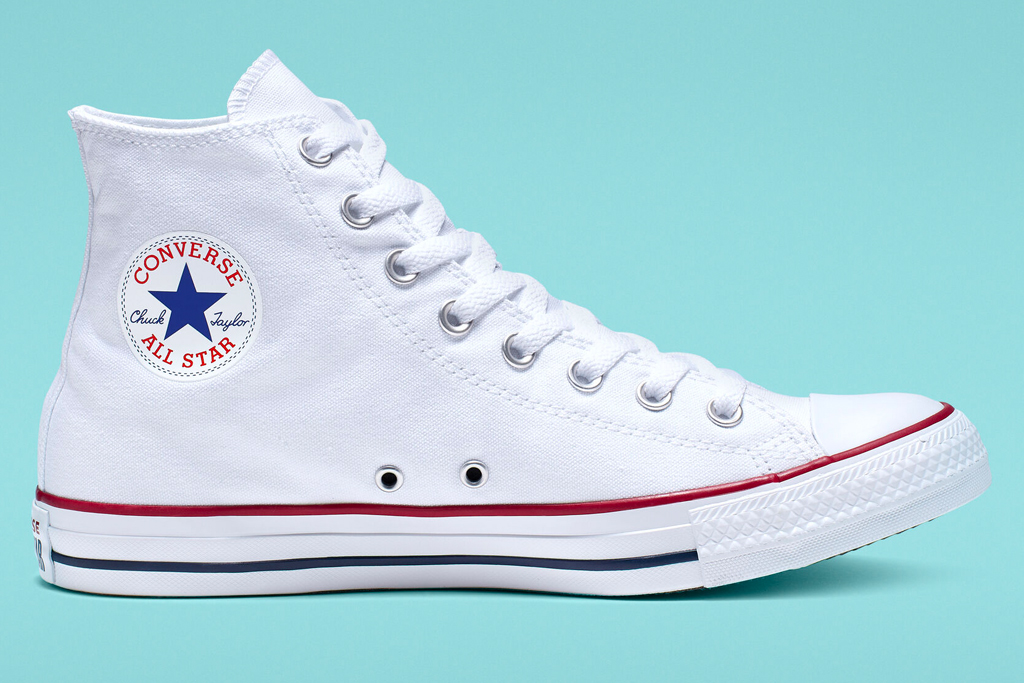 converse, chuck taylor, all star, white