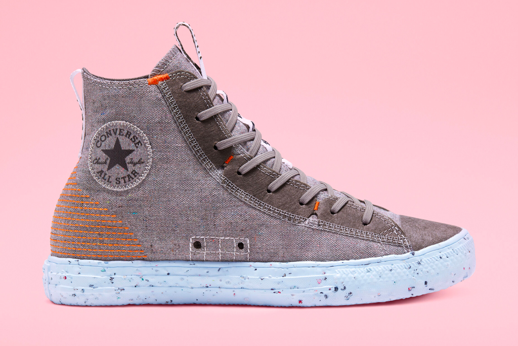 converse, chuck taylor, all star, crater, sustainable, recycled