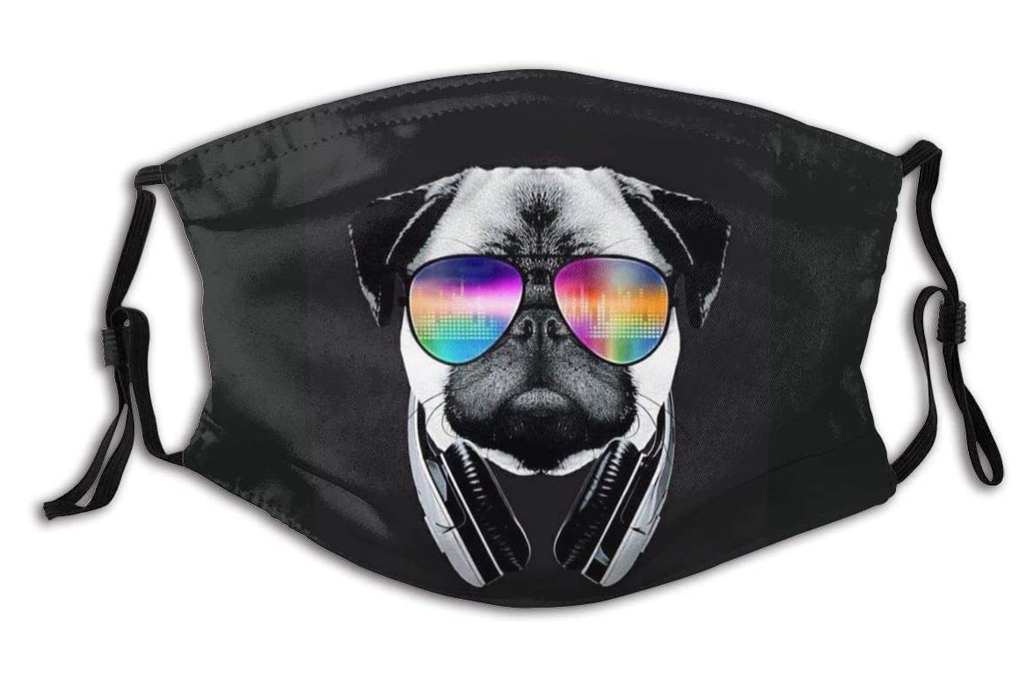 pug, face mask