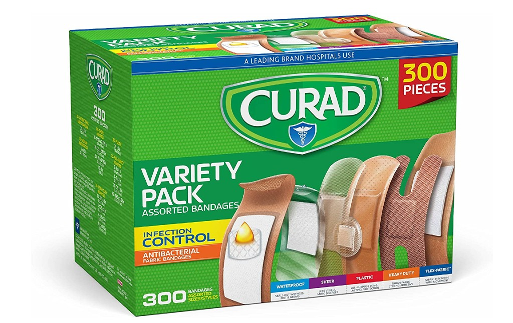 Curad Assorted Bandages Variety Pack