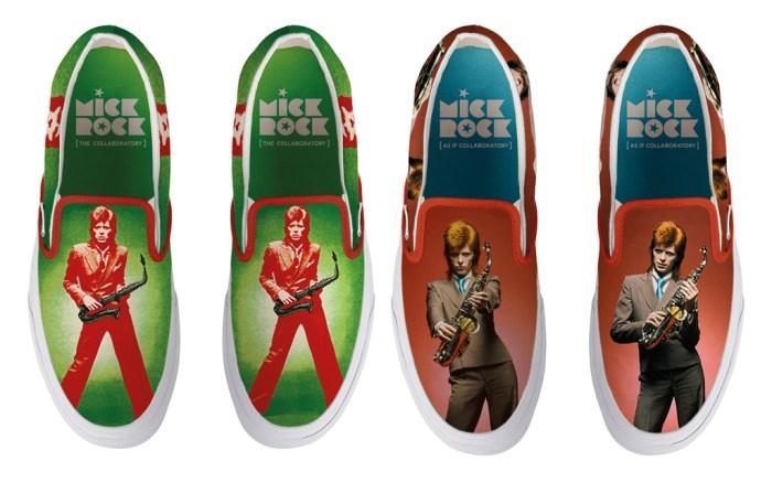 david bowie, mick rock, mick rock david bowie, david bowie shoes, mick rock shoes, rock and roll, music, music shoes