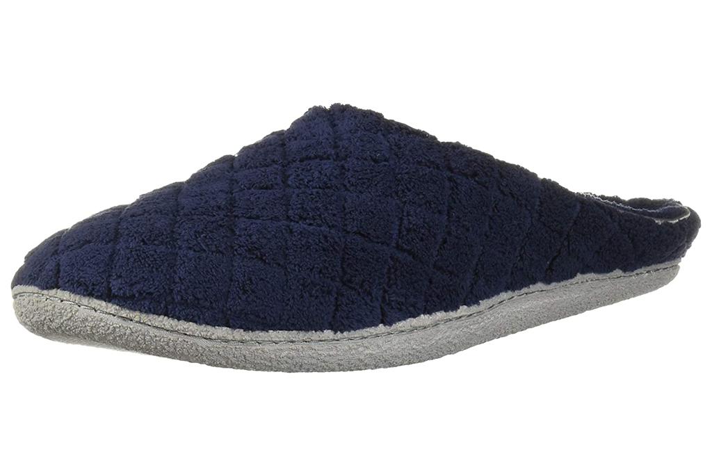 dearfoams, fuzzy clogs, slippers