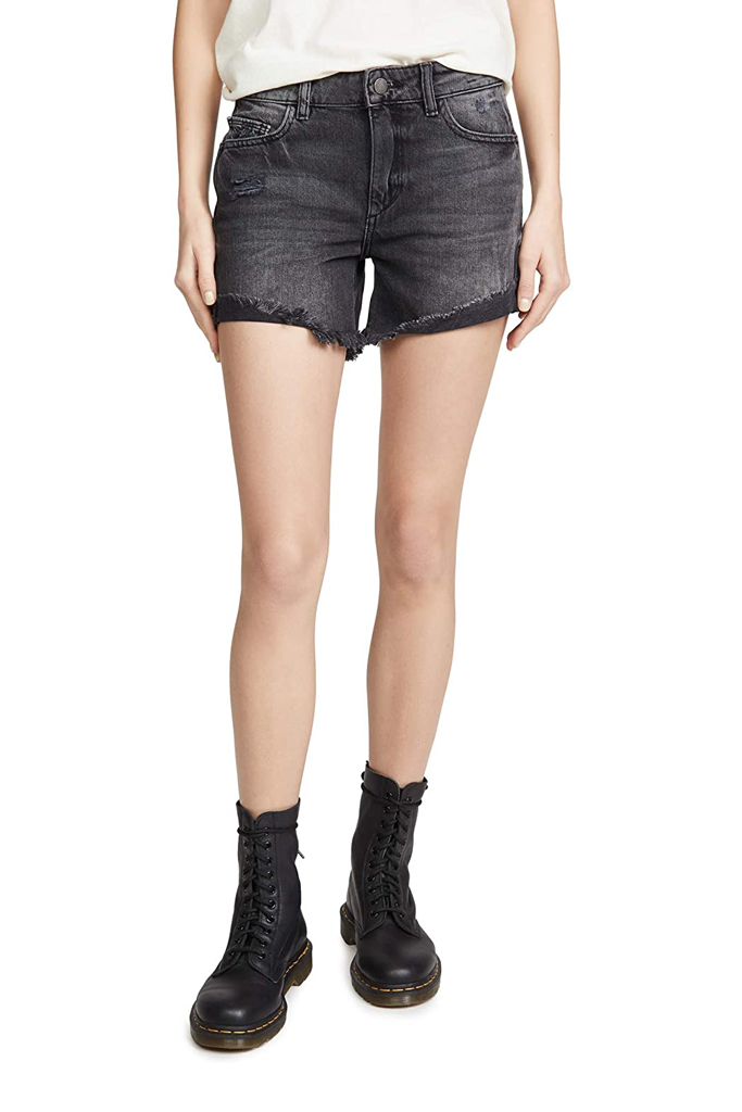 DL1961 Women's Karlie Boyfriend Shorts, denim shorts