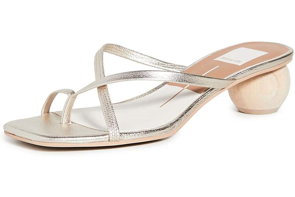 Dolce Vita, golden sandals