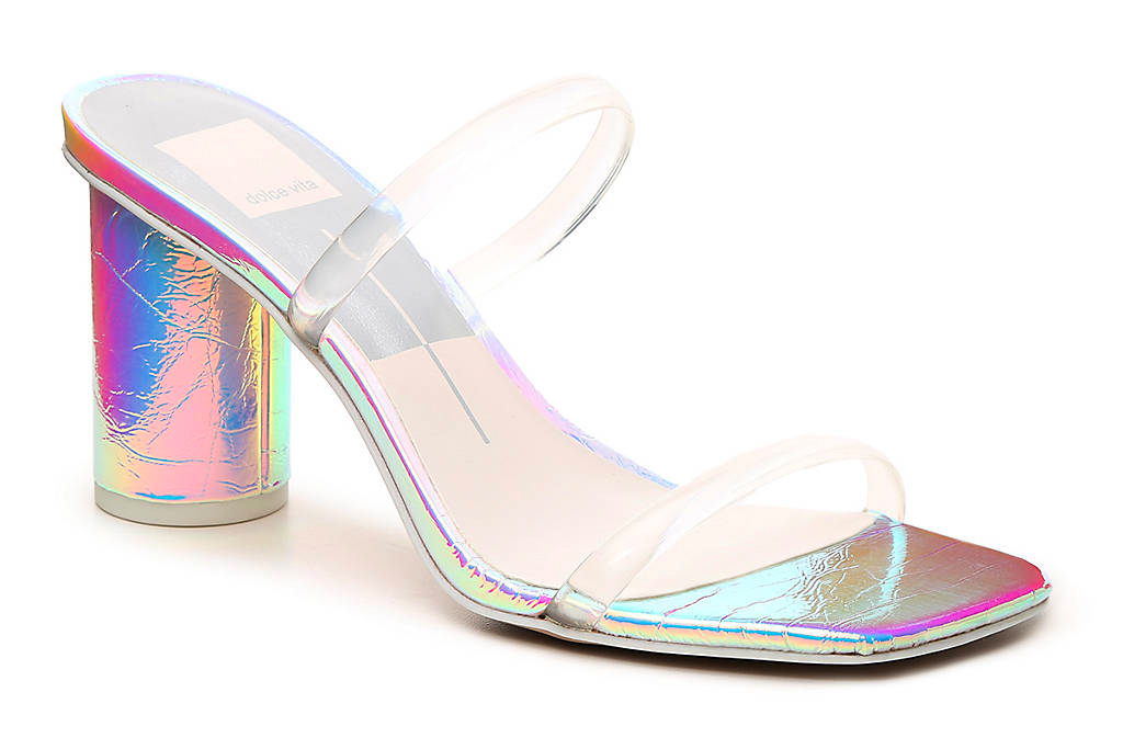 dolce vita, clear heels, pvc