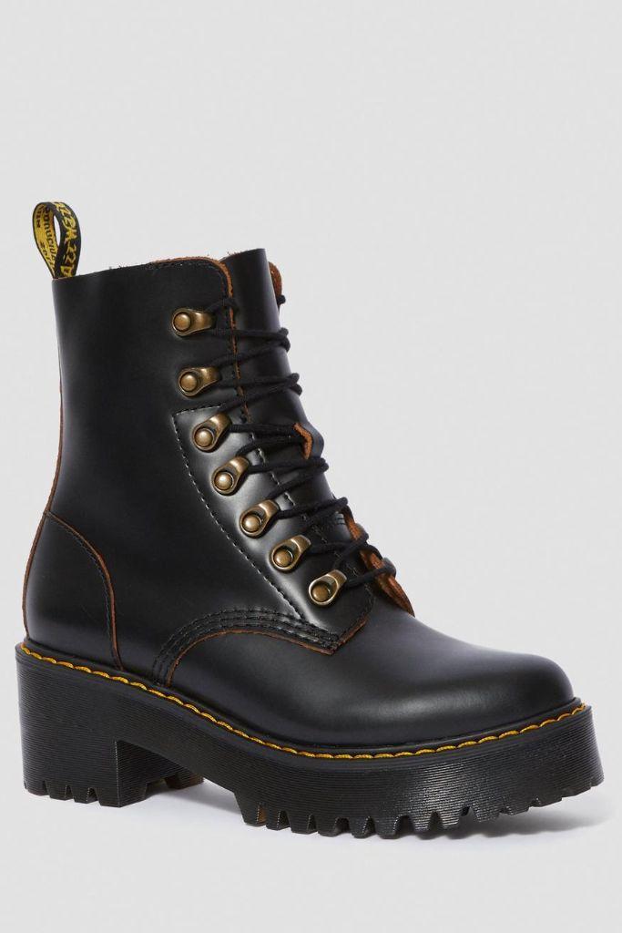 dr. martens, dr. martens boots, dr. martens leona, platform boots, diane keaton boots, diane keaton style, diane keaton instagram