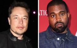 Elon Musk, Kanye West
