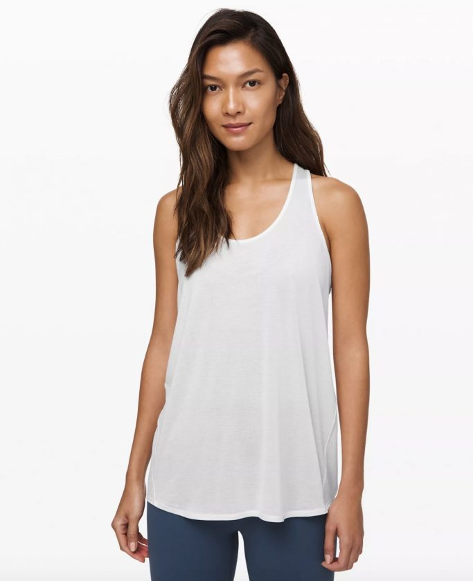 Essential Tank Pleated