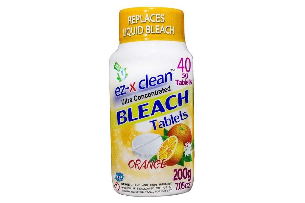 laundry detergent, bleach, ez-x clean