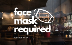 face mask sign, covid-19 sign, etsy