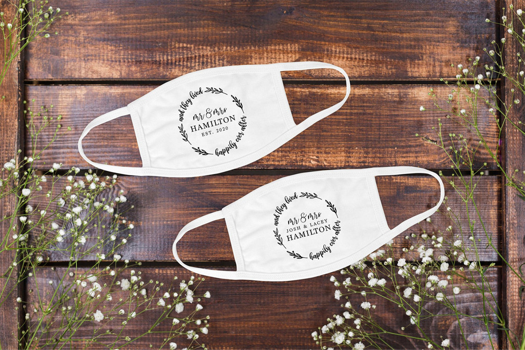 Bride and Groom Face Masks – Footwear News