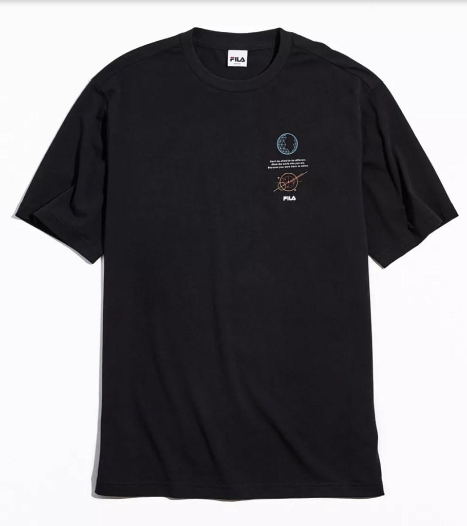 Fila, BTS, t-shirt