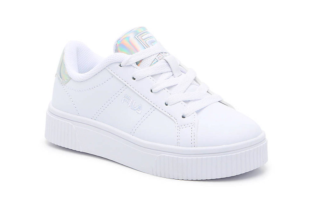 fila, white sneakers, girls, toddlers