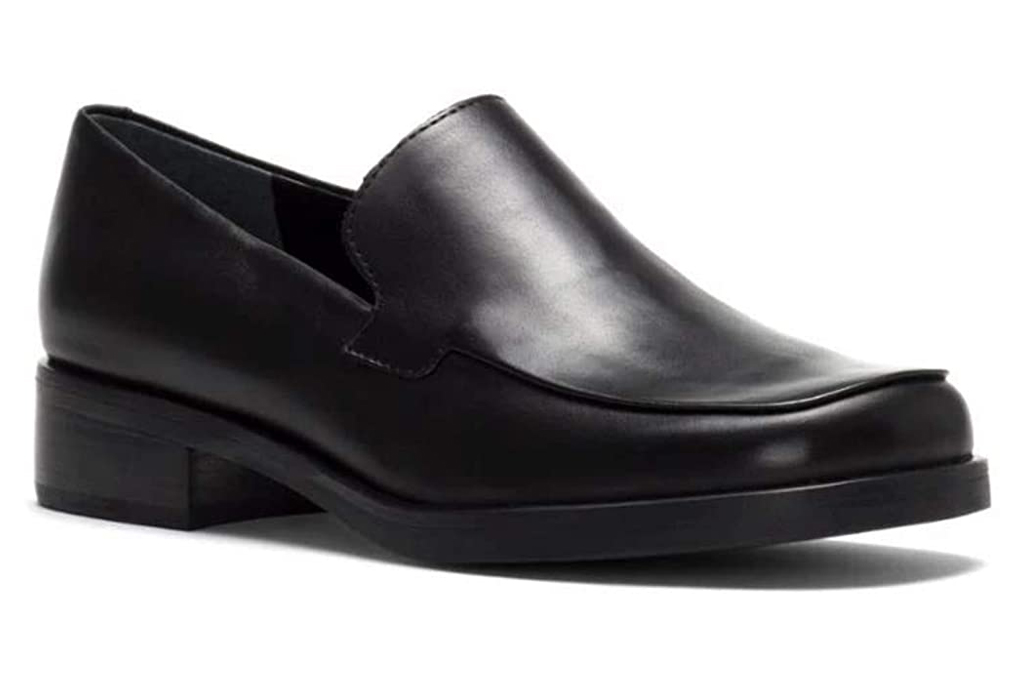 franco sarto, black loafers