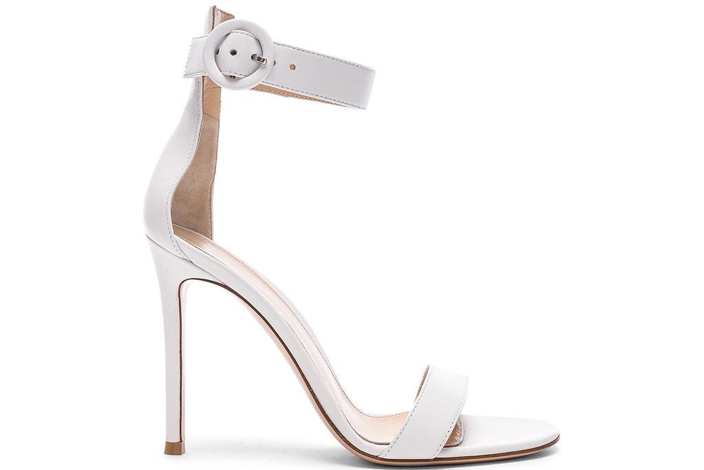 Gianvito Rossi, white sandals
