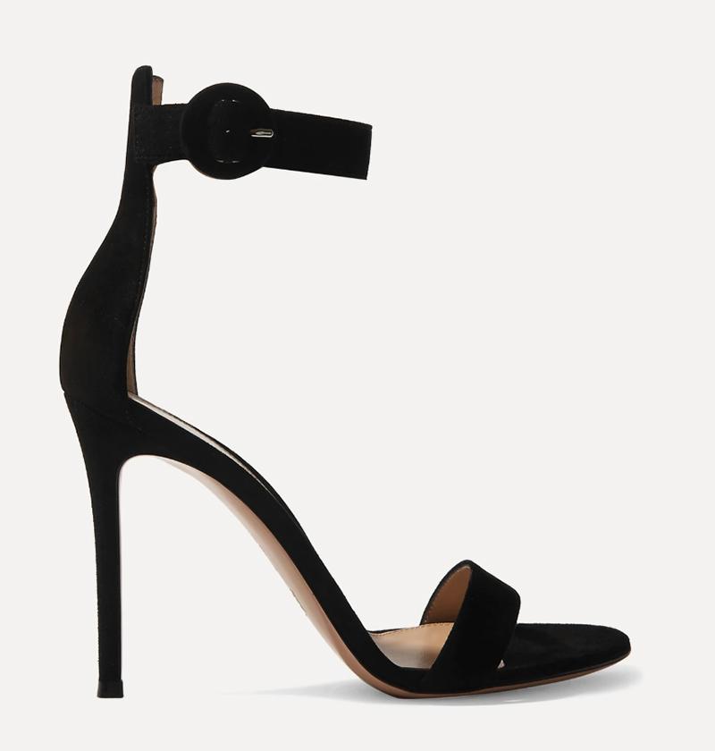 gianvito rossi, style, sandals, black