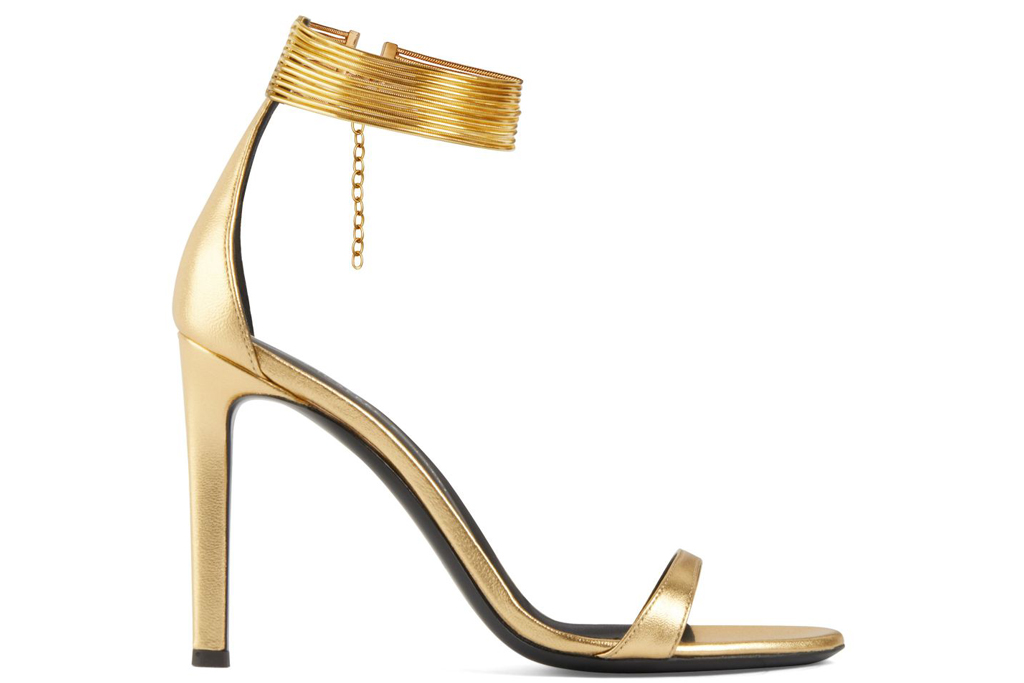 Giuseppe Zanotti, gold sandals