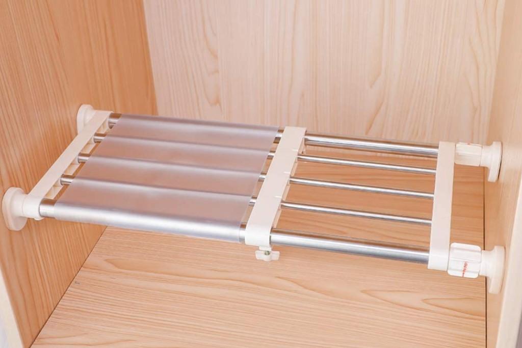 Hershii Closet Tension Shelf