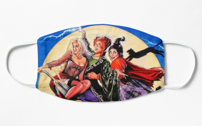 hocus pocus, face mask, mask, movie, halloween