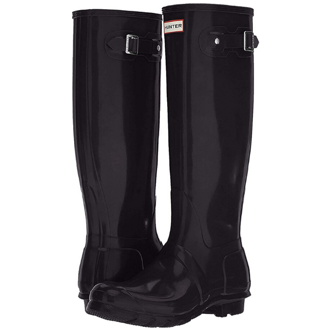 Hunter-Black-Rain-Boots