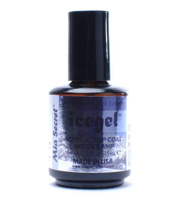 mia secret ice gel top coat