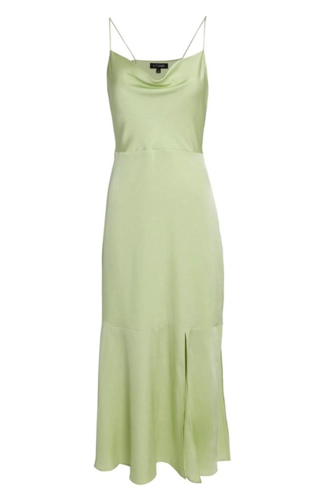 intermix flash sale, intermix dress, cowl neck dress