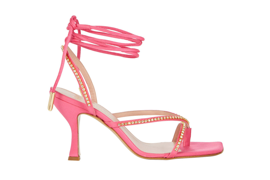 intermix sale, flip flop heels, designer heels