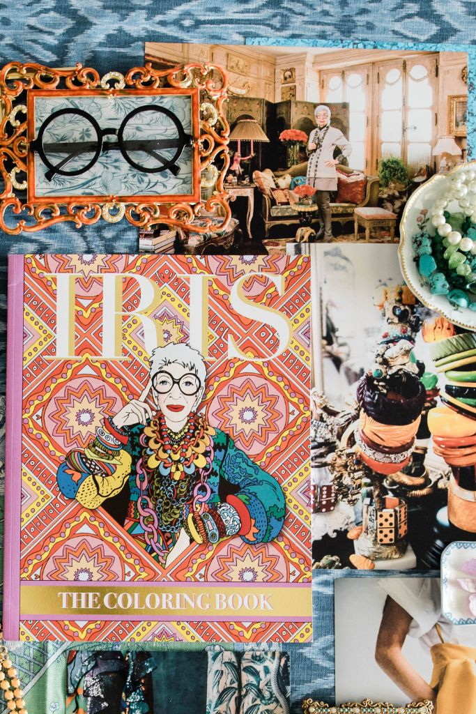 iris the coloring book, iris apfel, iris apfel coloring book coloring, coloring book