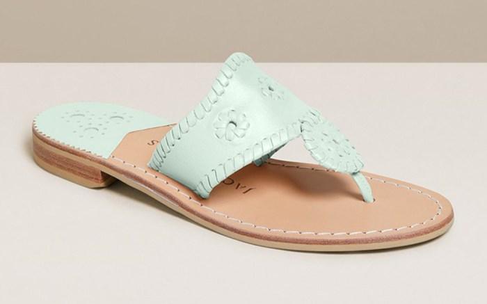 jack rogers, sandals, slides, flat