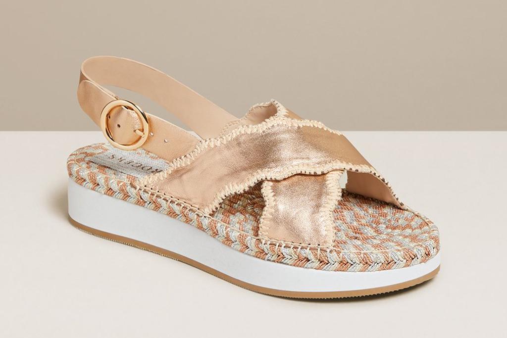 jack rogers, sandals, slides, platform
