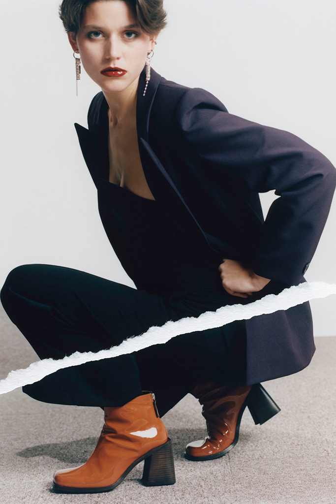 justine clenquet, fall winter '20, justine clenquet shoes