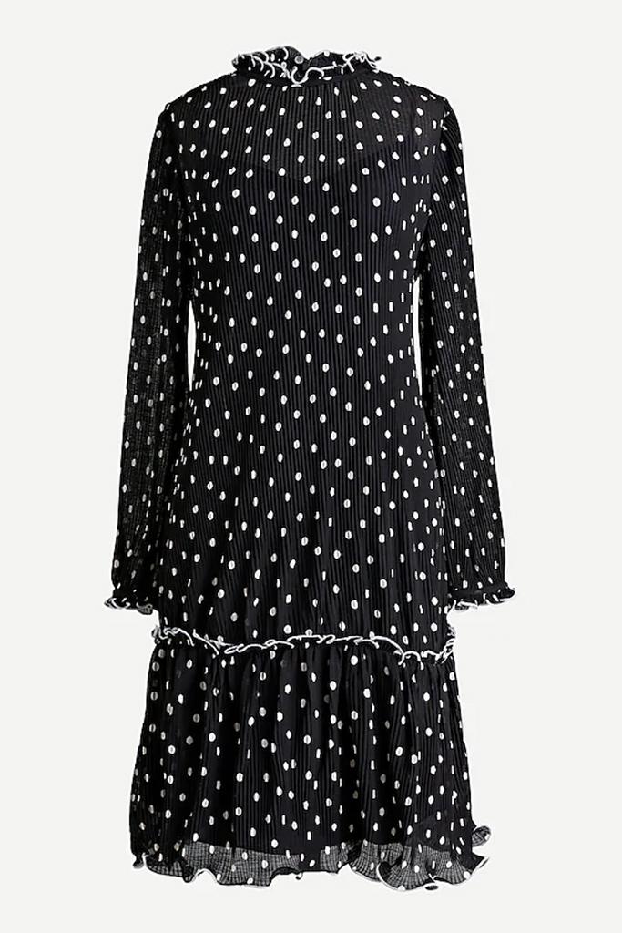 j. crew dress, j. crew sale, polka dot dress