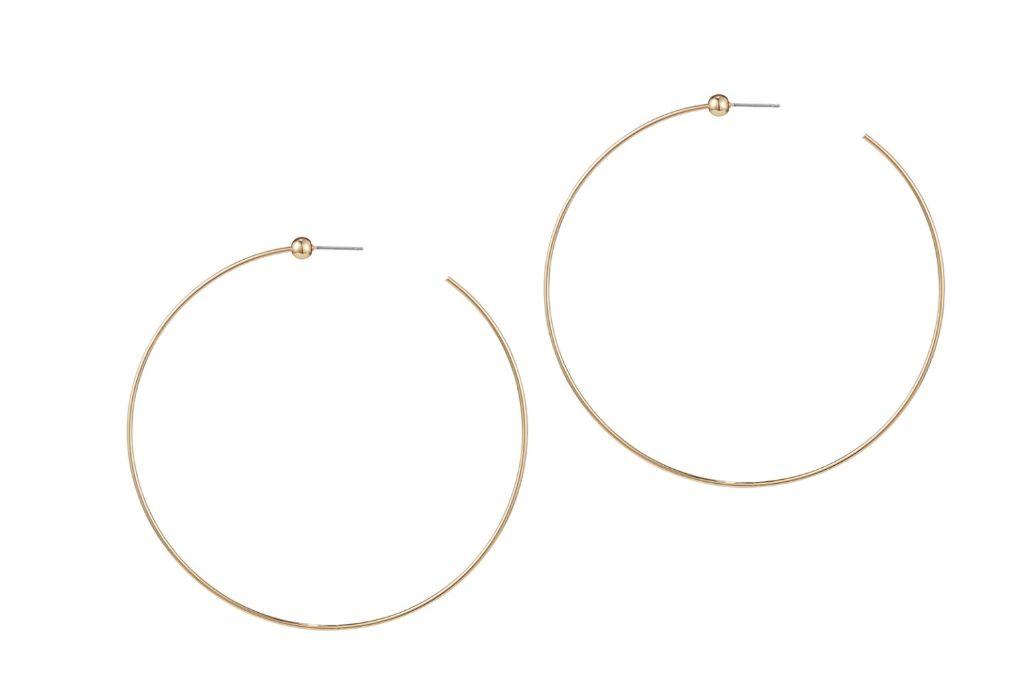 hoop earrings, jenny bird, jenny bird jewelry, bella hadid