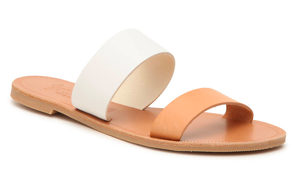 joie, sandals, white brown