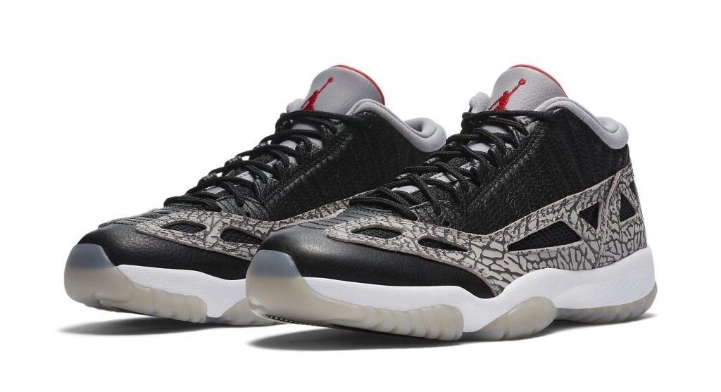 Air Jordan 11 Retro Low 'Black Cement'