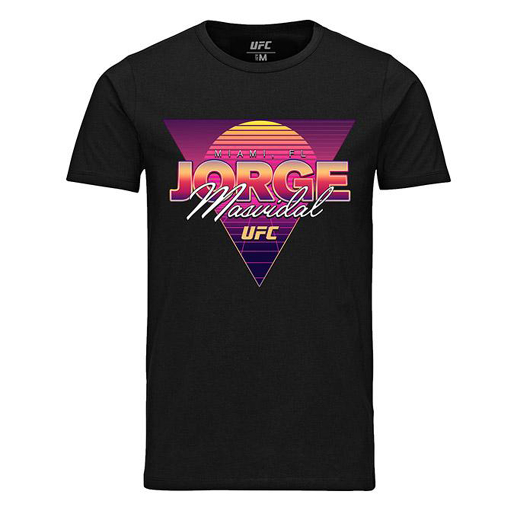 Jorge Masvidal Retro Miami Graphic T-Shirt