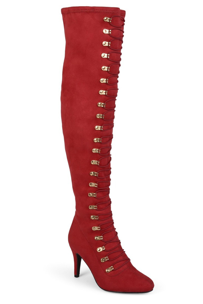 Journee Collection, thigh-high boots