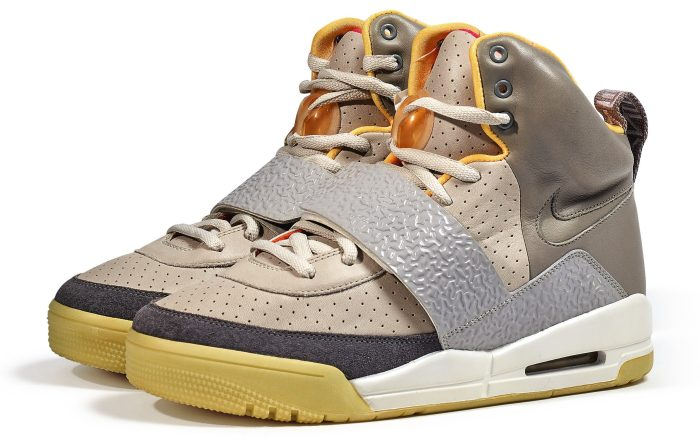 Kanye West Nike Air Yeezy 1 'Zen Grey' Sample