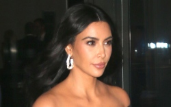 kim kardashian, style, glasses, waist trainer