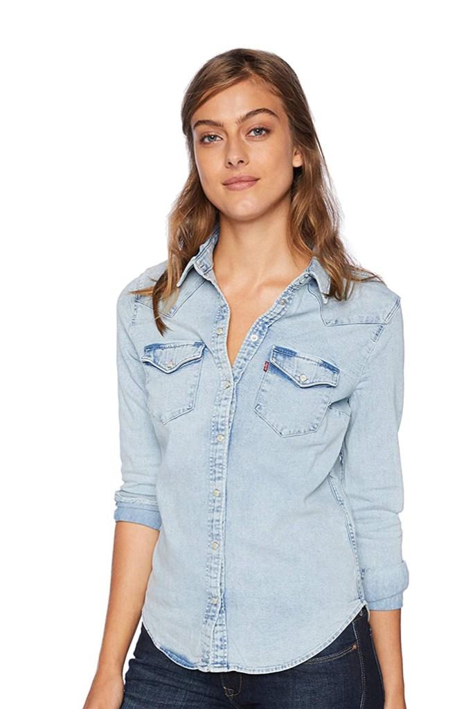 Levi's, chambray shirt