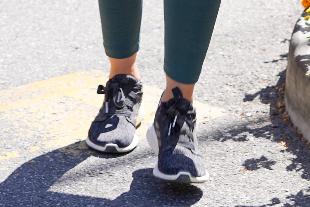Lucy Hale, adidas sneakers, street style, adidas edge lux 3