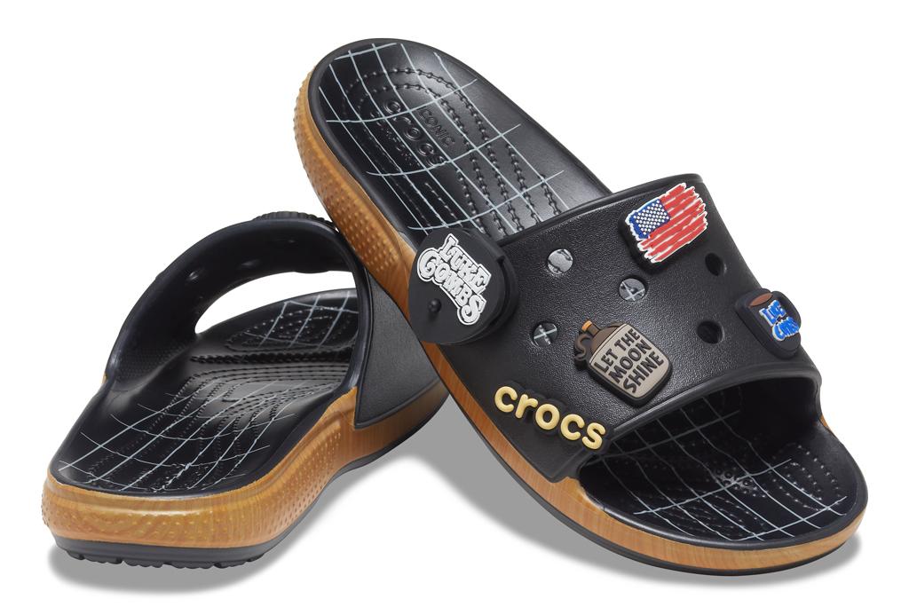 Luke Combs x Crocs Classic Bootlegger Slide, luke combs crocs