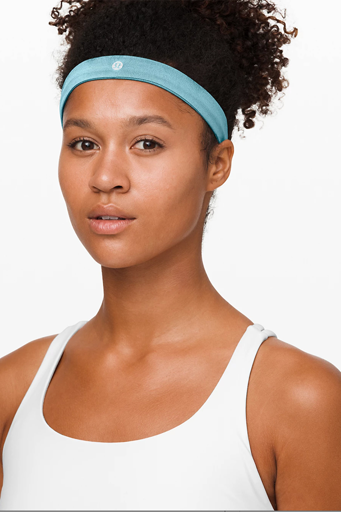 Lululemon headband, Lululemon sale, blue headband