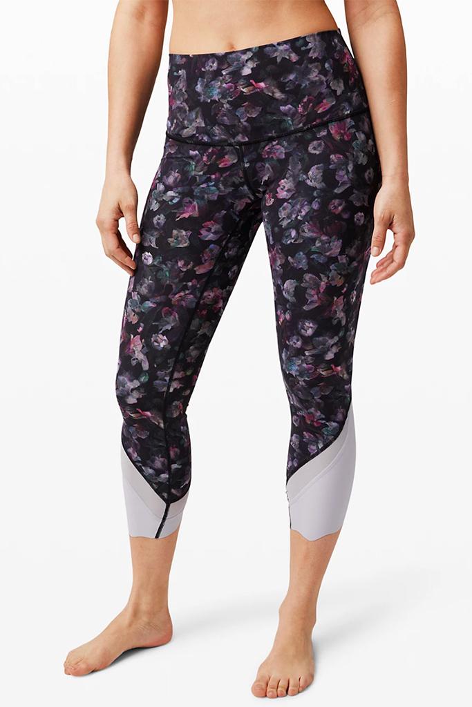 lululemon leggings, lululemon warehouse sale, patterned leggings