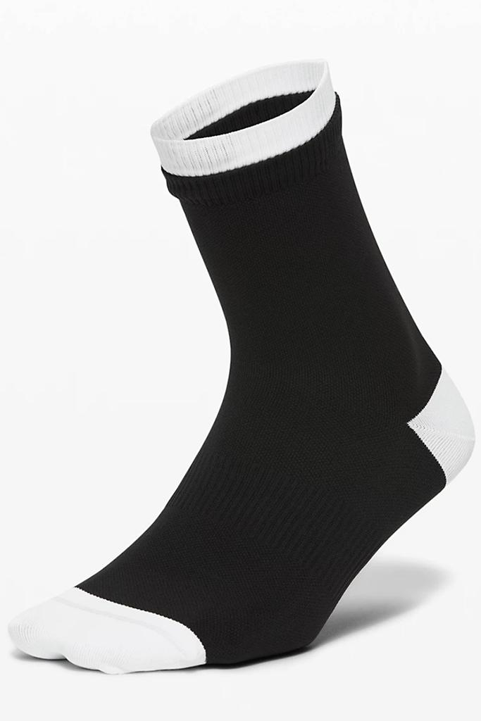 Lululemon socks, Lululemon sale, black and white socks