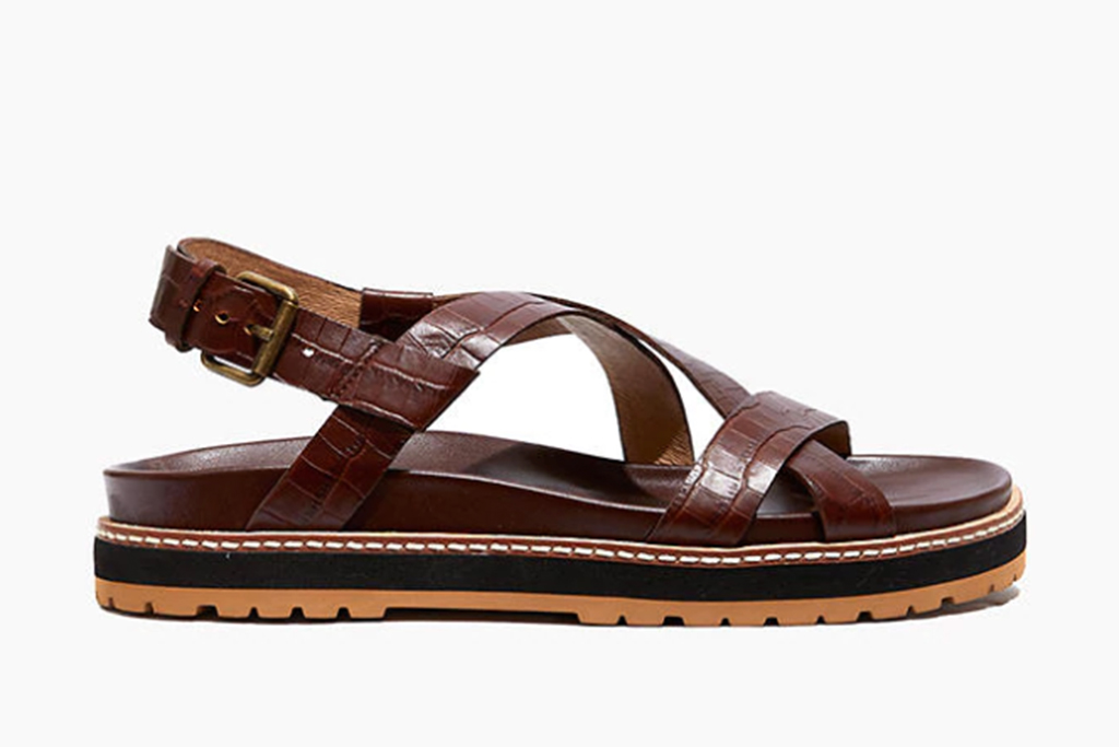 madewell sale, madewell sandals, croc sandals