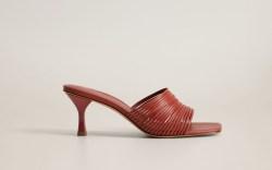 mango shoe sale, mango heels, red
