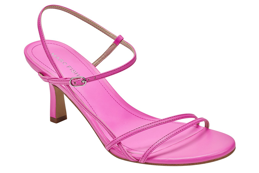 Marc Fisher, pink sandals