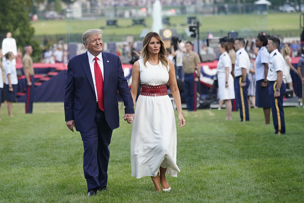 Melania Trump, Fourth of July Outfit, 2020