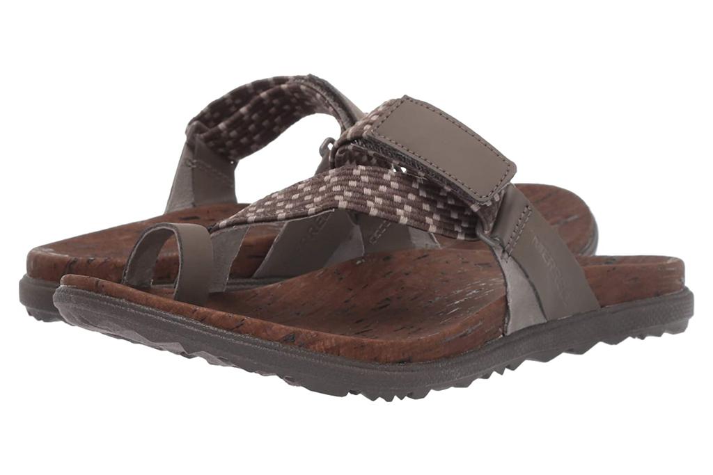 Merrell, big-toe sandals